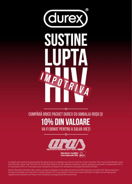 afis campanie Lupta impotrivs HIV