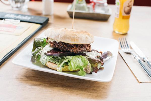 foodpanda, Burger Vegan