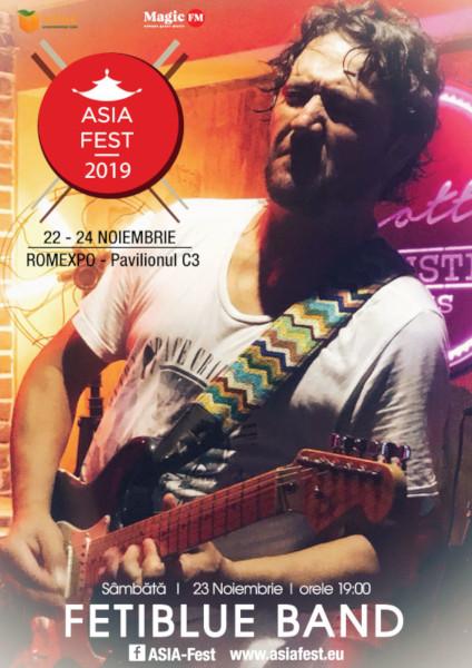 poster Asia Fest Fetiblue Band