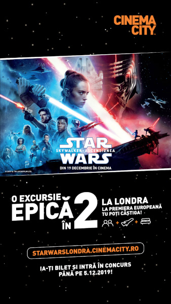 poster Concurs Star Wars. The Rise of Skywalker