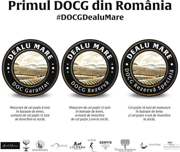 primul DOCG din Romania