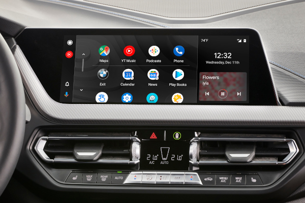 BMW Google Android Auto