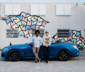 BMW M850i xDrive Cabriolet explorează steet art-ul Miami, întru-un proiect Art Basel Miami Beach