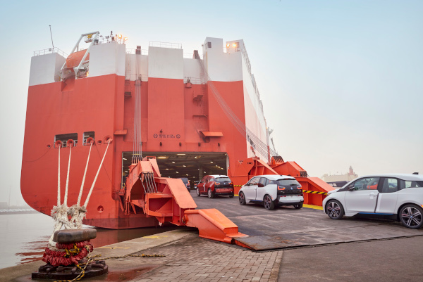 BMW i3 shipping