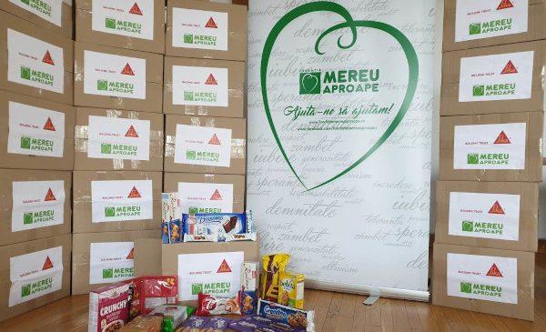 """De Crăciun, programul """"Bucurie la cutie"""" a ajuns la 650 de beneficiari"""