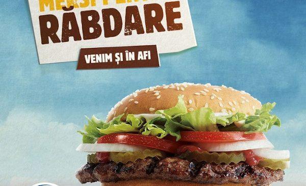 13 decembrie, AFI Cotroceni București: AmRest deschide cel de-al doilea restaurant Burger King în România