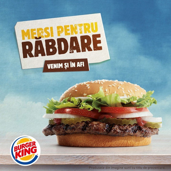Burger King AFI
