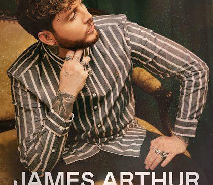 Concert James Arthur la Bucuresti pe 9 Iulie