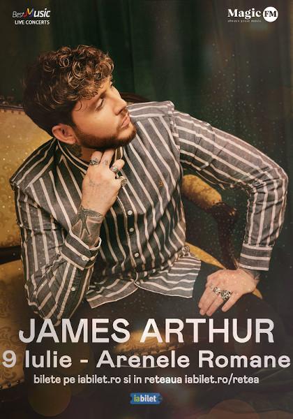 Concert James Arthur, 19 Iulie