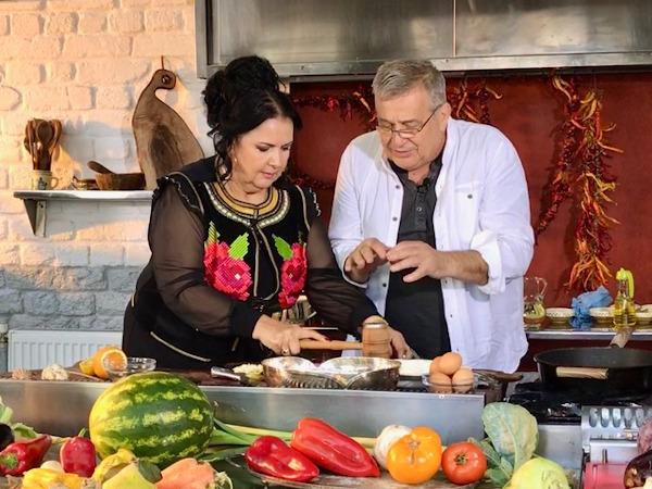 Daniela Condurache si Mircea Dinescu