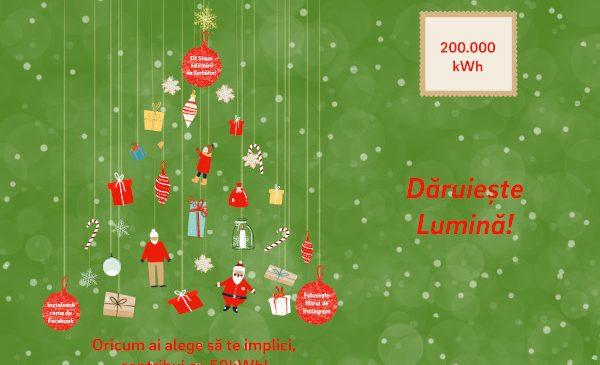 Cu un singur click, românii pot dărui lumină caselor de copii, căminelor de bătrâni și școlilor