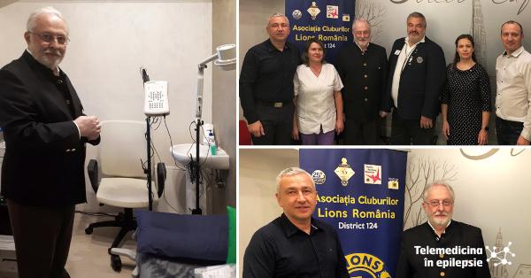 Cel de-al nouălea aparat video EEG din rețeaua Telemedicina în Epilepsie a fost instalat la Brașov