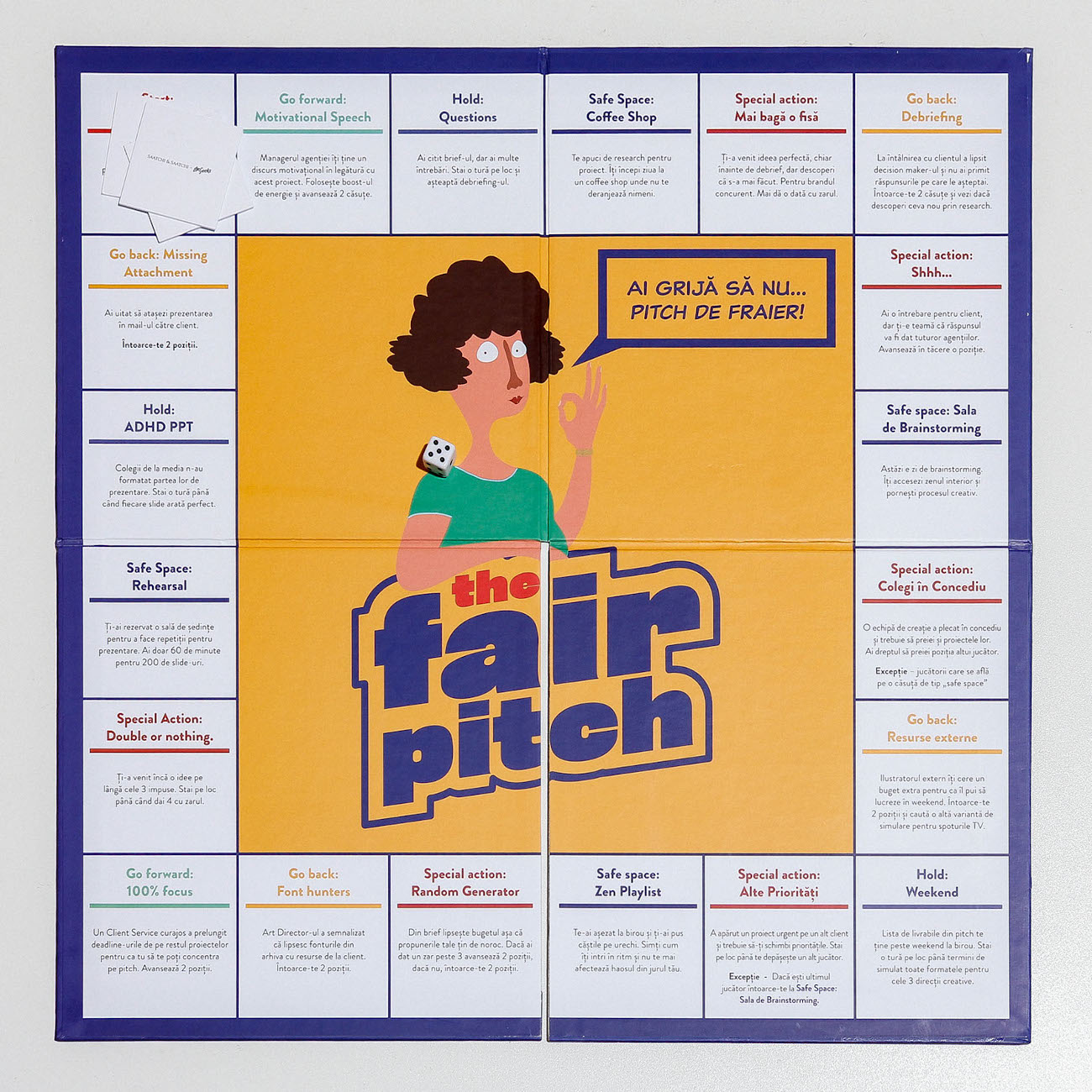 Fair Pitch boardgame