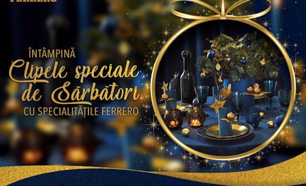 Decorează-ți casa ca într-un film de Crăciun cu noile decorațiuni Ferrero