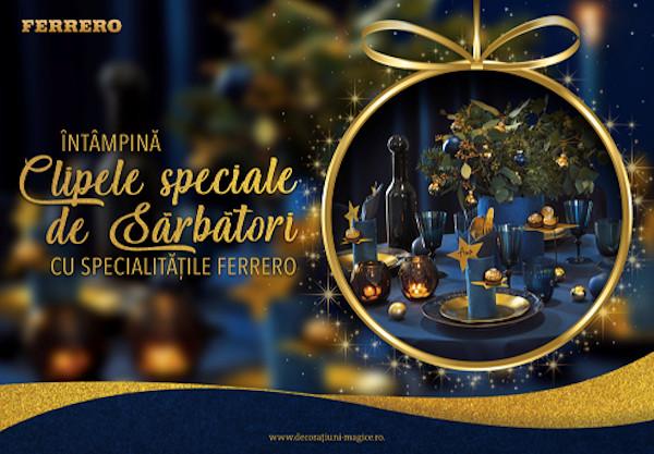 Ferrero - clipe speciale de sarbatori