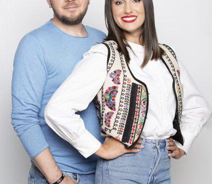 """Cel mai nou cuplu de prezentatori in showbiz! Vor prezenta """"ROventura"""", in fiecare sambata, la Kanal D"""
