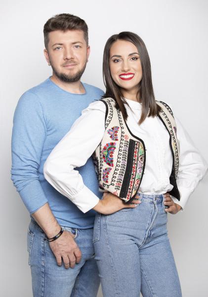 George Mihai si Andreea Stavroiu, prezentatori ROventura