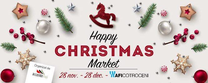 Cea mai nouă tendinţă în materie de ornamente se găsește în AFI Cotroceni, la Happy Christmas Market