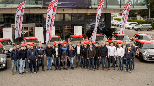 MINI fleet delivered in Bucharest for Comma Oil by Automobile Bavaria Group