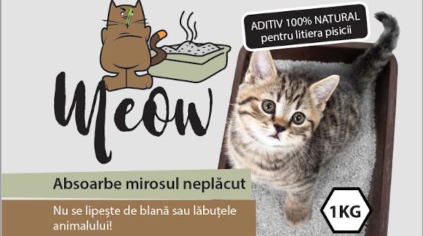 4 din 10 proprietari de pisici resimt mirosul neplacut generat de litiera acesteia
