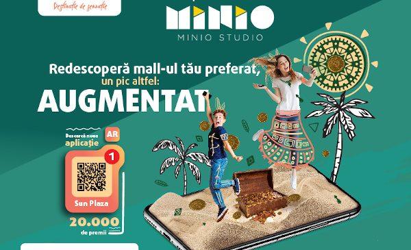 Minio Studio a lansat aplicația de realitate augmentată Sun Plaza