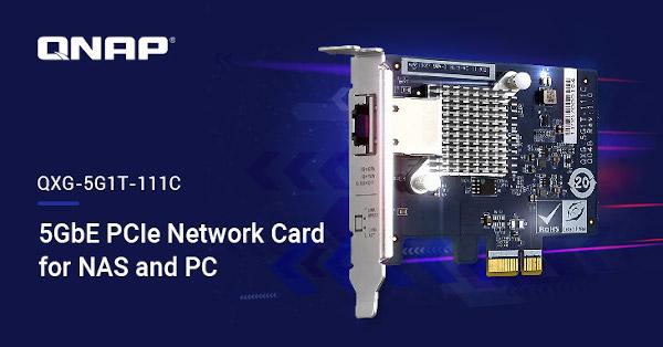 Upgrade de rețea pentru NAS și PC în infrastructura existentă: QNAP lansează o placă 5GBASE-T cu patru viteze