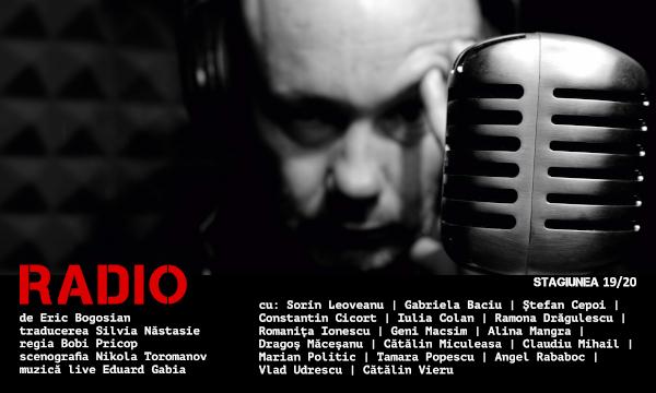 """Premieră la Teatrul Național """"Marin Sorescu"""" Craiova: RADIO de Eric Bogosian, regia BOBI PRICOP"""