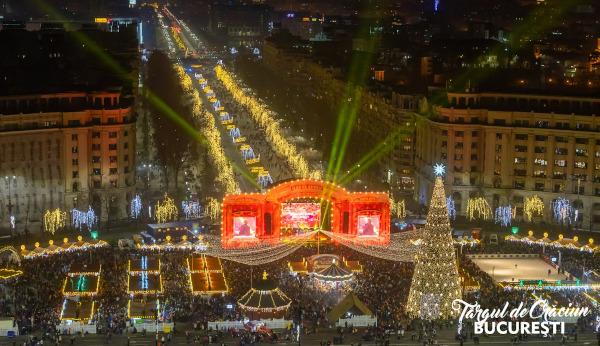 1 milion de vizitatori la Târgul de Crăciun București 2019
