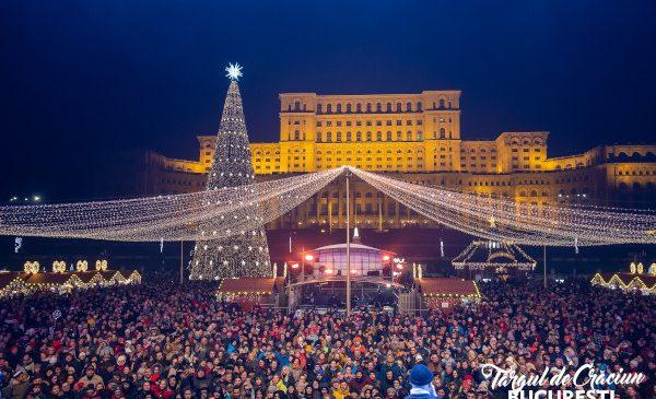 Sărbători de iarnă pline de bucurie la Târgul de Crăciun București