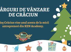 Te invităm la Târgurile de Crăciun ale copiilor antreprenori. Te așteptăm cu produse de Sărbători realizate chiar de cei mici