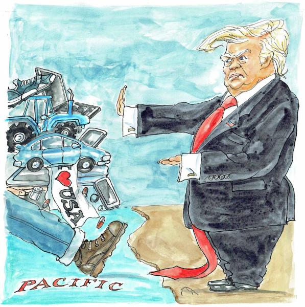 Trump, America First