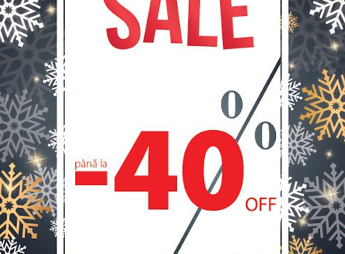 Pe 27 decembrie, TEZYO dă startul campaniei WINTER SALE cu promoții de până la 40 % în toate magazinele și online