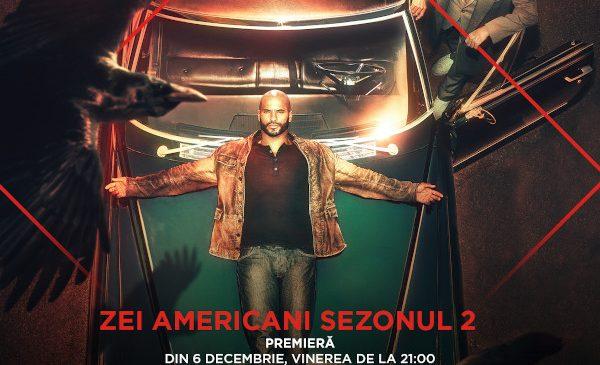 """Serialul """"Zei americani"""" (American Gods) revine la AXN"""
