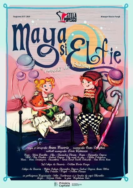 afis Maya si Elfie