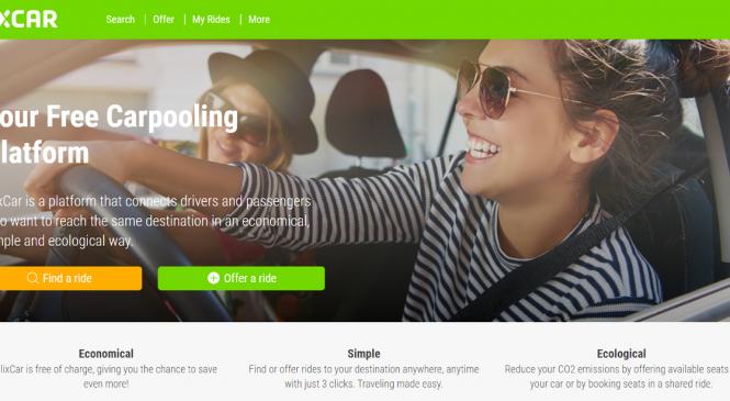 FlixBus lansează în Franța o platformă de carpooling FlixCar