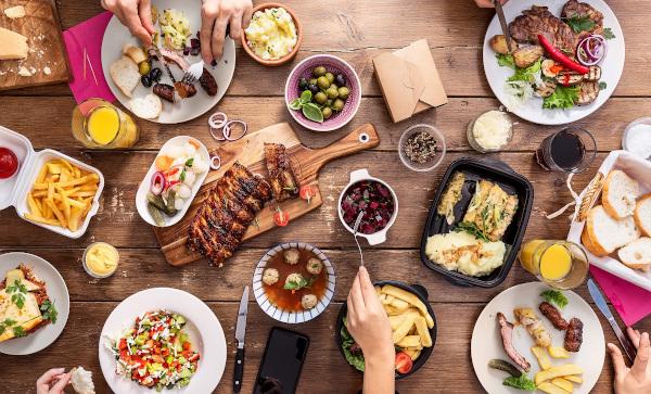 De Sărbători, foodpanda estimează o creștere a comenzilor online de mâncare cu 150% față de anul trecut
