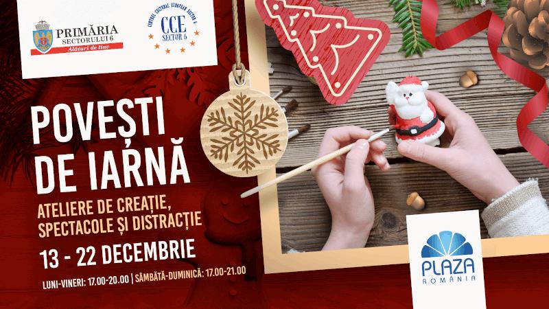 Plaza România Povești de iarnă