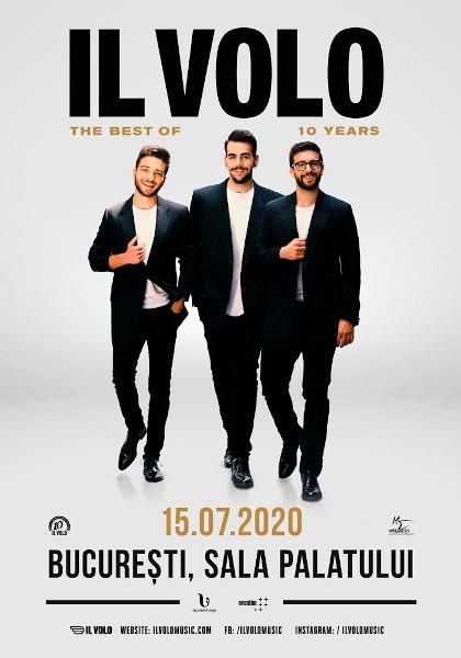 poster Il Volo Bucuresti 2020