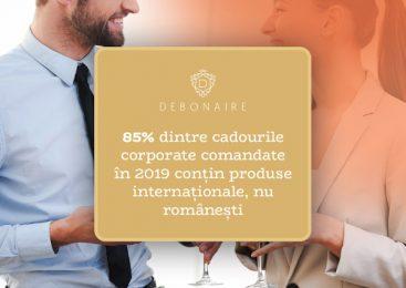 Românii caută rafinamentul în străinătate: 85% dintre cadourile corporate comandate în 2019 conțin produse internaționale, nu românești
