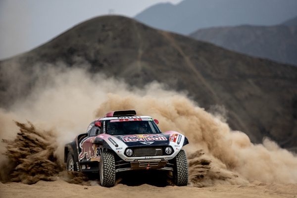 2019 Dakar, shakedown, Stephane Peterhansel (FRA) , David Castera (FRA) - MINI John Cooper Works Buggy - X-raid MINI John Cooper Works Team