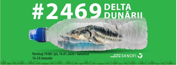 2469_Delta Dunării, o expoziție manifest pentru un viitor cu mai puțin plastic