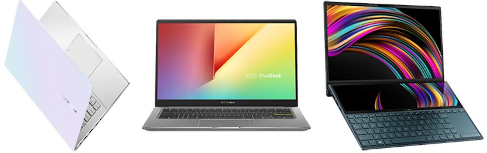 ASUS a expus la CES 2020 cele mai noi serii VivoBook si ZenBook