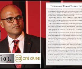 Amitabh Vardhan, numit printre cei mai buni 10 CEO din 2019 de către Industry ERA Magazine