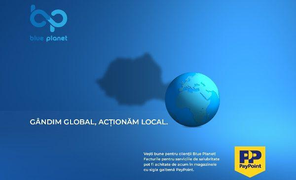 Facturile Blue Planet Services pot fi acum achitate prin intermediul PayPoint