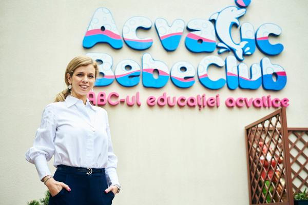 Carmen Dumitru, Acvatic Bebe Club