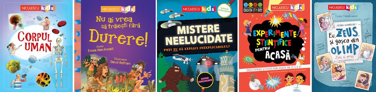 Editura Niculescu, carti din colectia KIDS