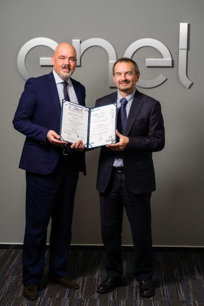Enel primire certificare ISO 37001