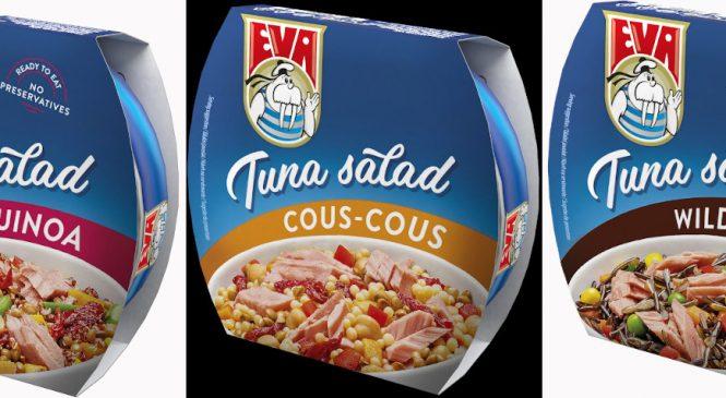 La EVA în salate, cu ton în bucate