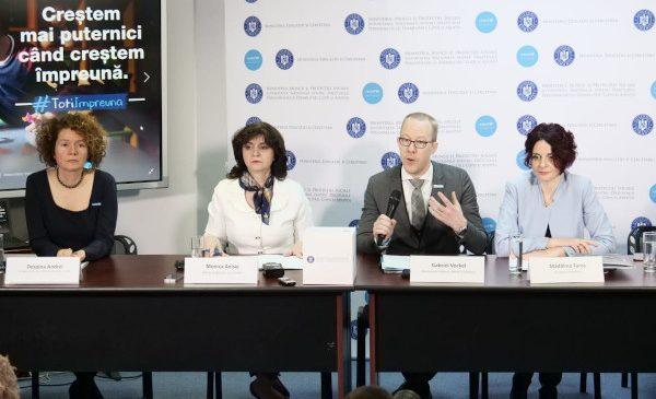 Ministerul Muncii și Protecției Sociale, Ministerul Educației și Cercetării și UNICEF: Creștem mai puternici când creștem împreună