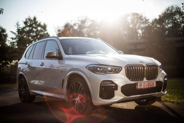 New BMW X5 in Romania